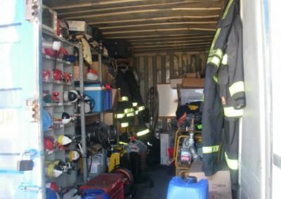 מחסן ציוד כיבוי אש ואביזרי בטיחות